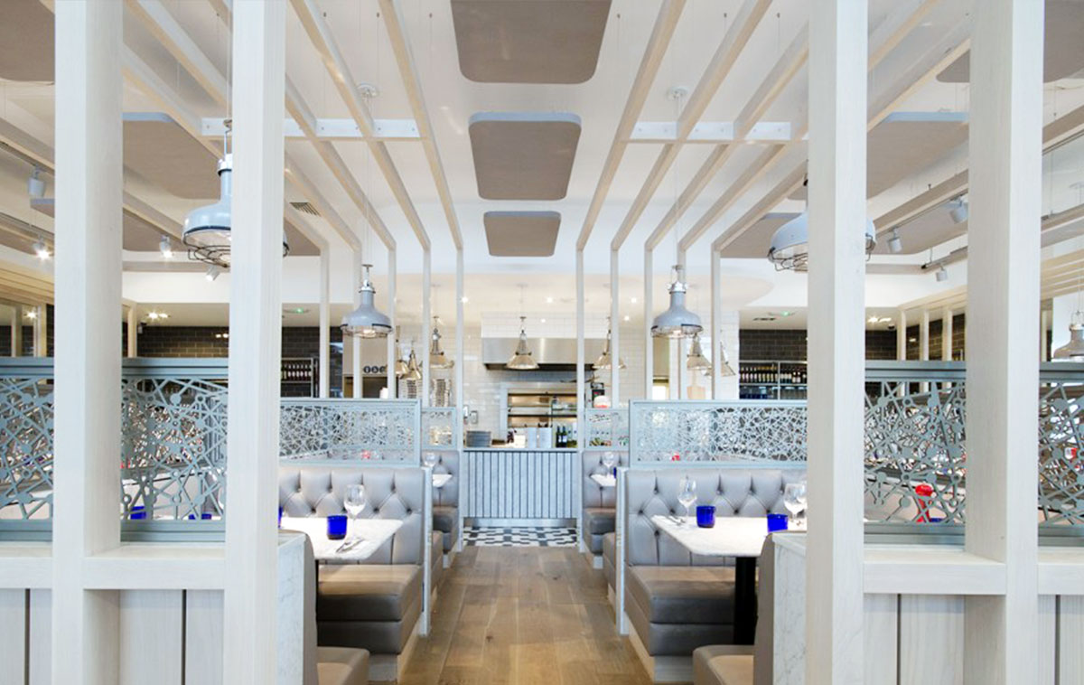 Pizza Express Tamworth Se Ceilings Ltd Suspended